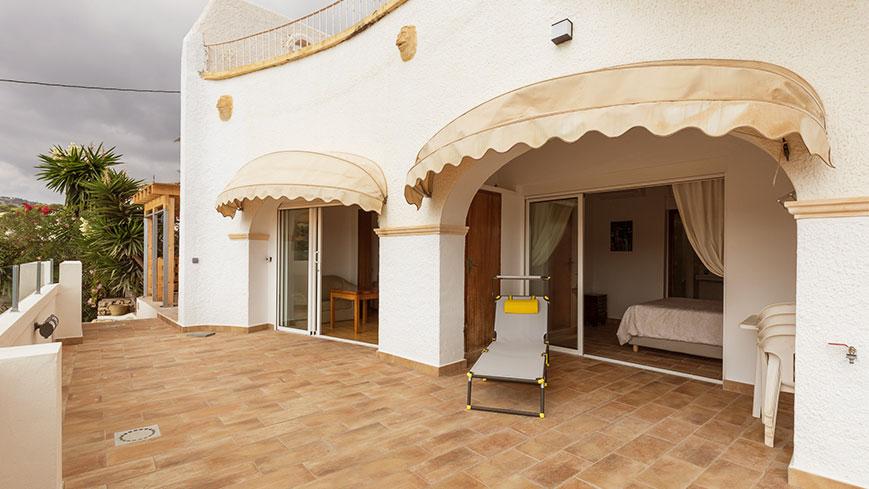 le balcon des appartements Condor