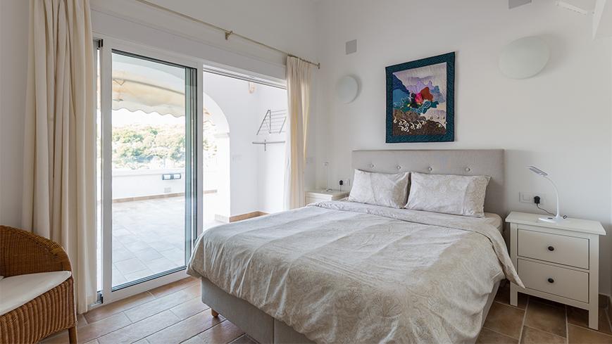 Chambre à coucher de l'appartement 2