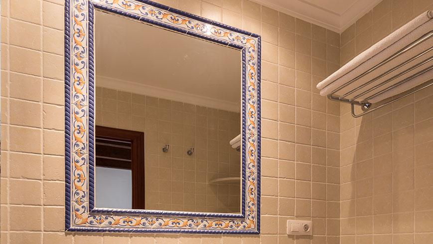 El cuarto de baño del apartamento 3