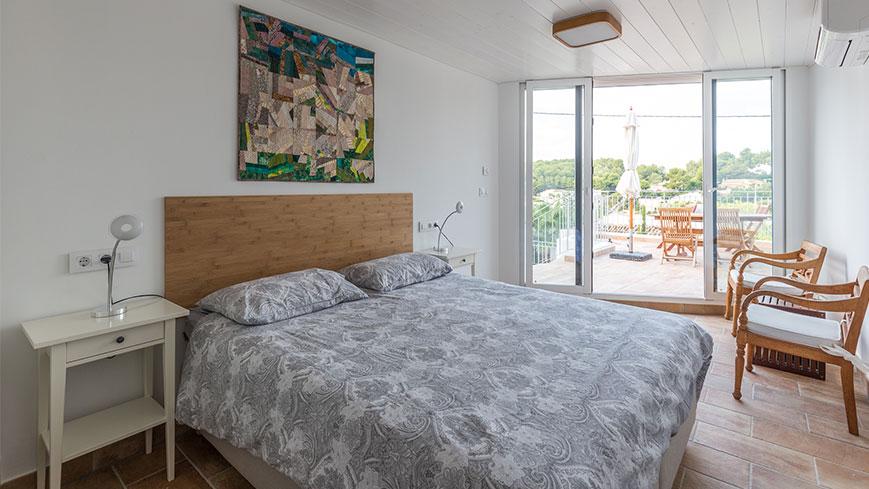 Wohnung 4 - das Schlafzimmer